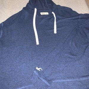 Blue Hollister sweater / hoodie